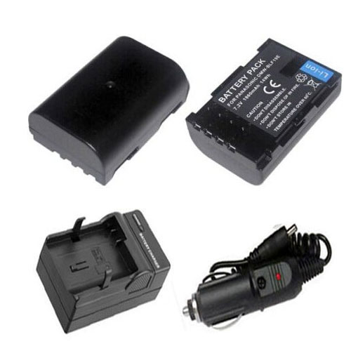 Panasonic DMW-BLF19 Batterie and Car Charger